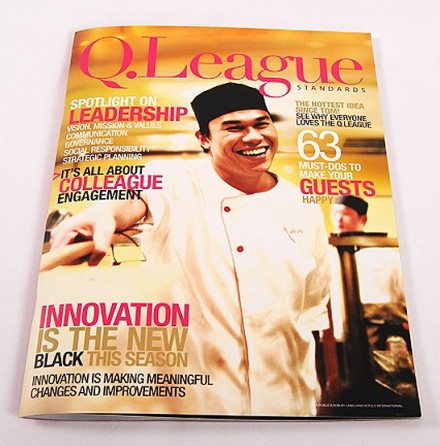 Langham Hotel Group –  Q.League (Magazine Design & Book Design)