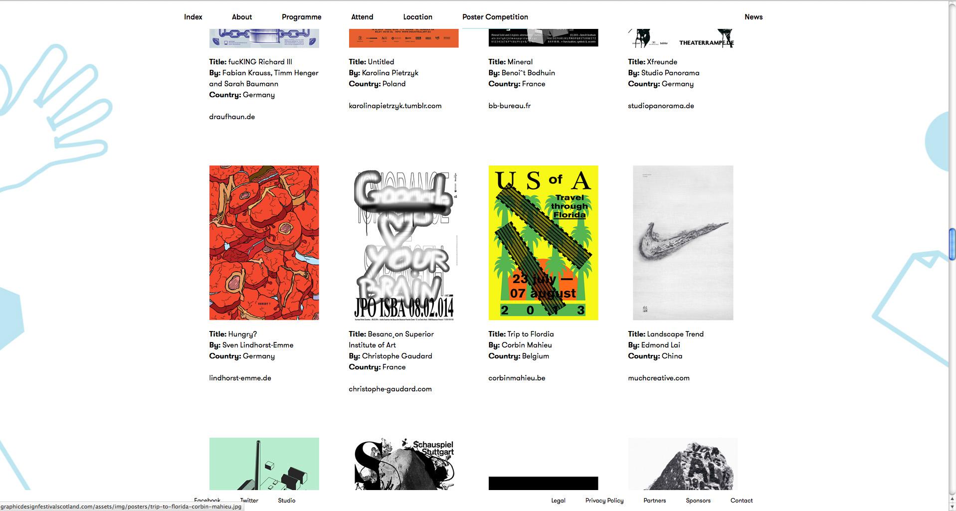 Graphic Design Festival Scotland Award