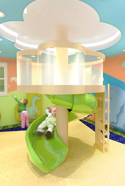 DAY CARE CENTER  (Interior Design)