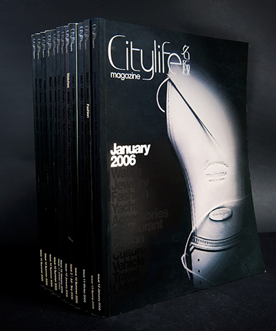 Citylife Magazine – January 2006 (Magazine Design & Book Design)