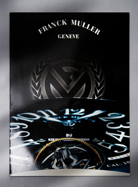 Franck Muller  (Catalog Design, Brochure Design & Book Design)