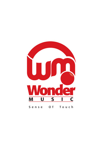 Wonder Music (Logo System Design)