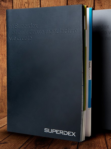 Superdex (Catalog Design, Brochure Design & Book Design)