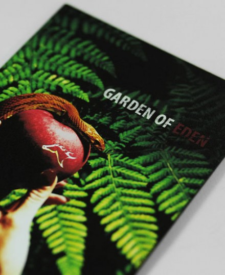 The Racing Club – Garden Of Eden (Promotion Design)