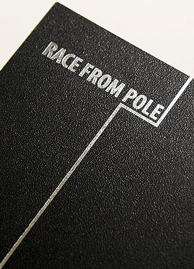 The Racing Club – Race Form Pole (Promotion Design)