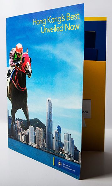 The Hong Kong Jockey Club – Tourism Kit (Brochure Design & Book Design)