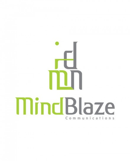 Mind Blaze Communications Limited (Visual Identity & Logo System Design)