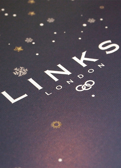 Links of London – Christmas & Invitation Card (Promotion Design)