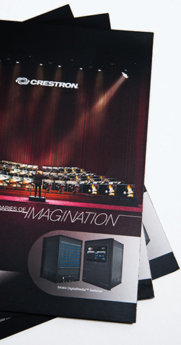 Crestron Electronics (Brochure Design & Book Design)