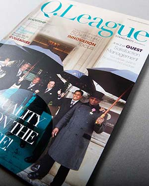 Langham Hotel Group – Q league (Magazine Design & Book Design)