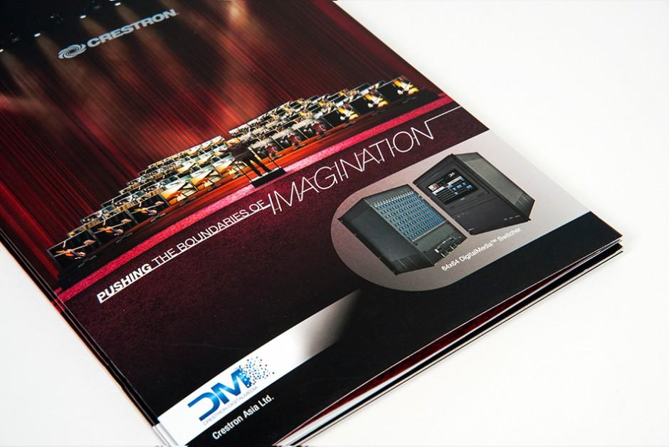 Hong Kong Brochure Catalog Design