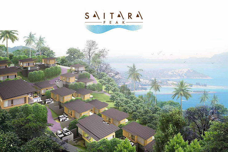 Saitara Peak Boutique Residence Logo Design