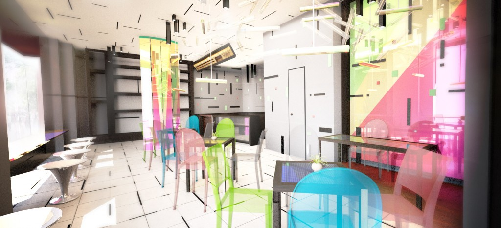 Cafe – Floating Space Concept