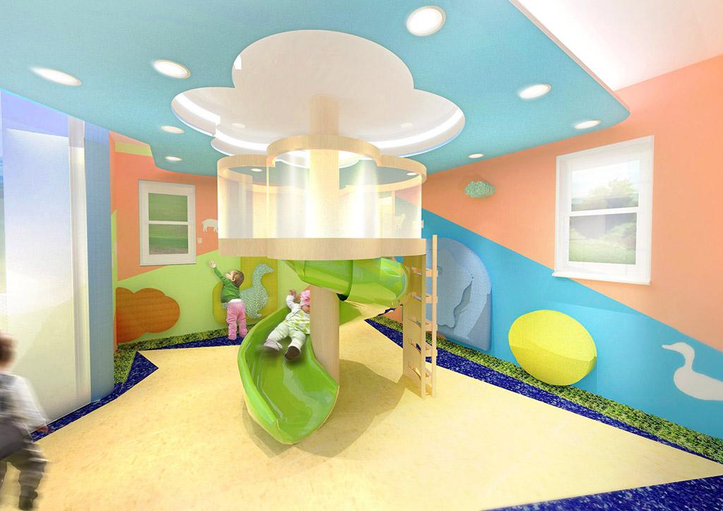 Home Business Day Care Center Interior Design