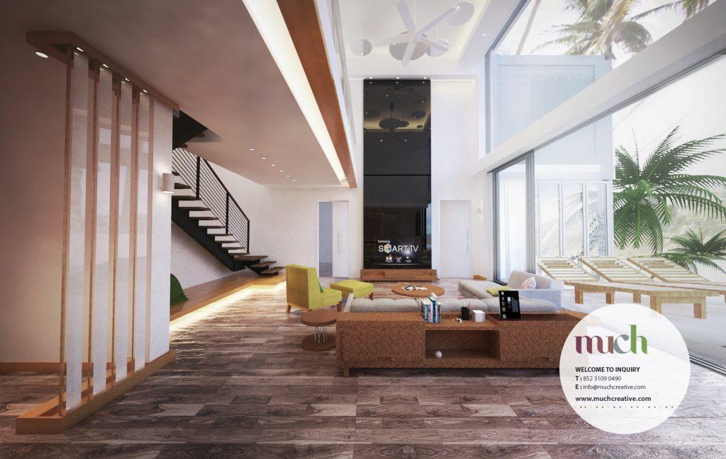 interior design, Villas