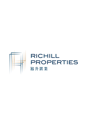 RICHILL PROPERTIES 裕升置業 (logo design and brand identity)